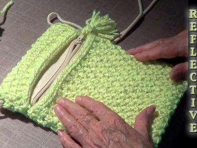 Reflective Yarn Bag Video Tutorial