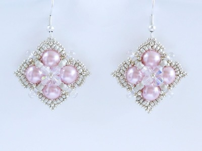 TheHeartBeading: Be Mine Earrings Tutorial