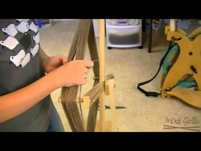 TheKnitGirllls Tutorial Series - How To Use A Skeinwinder