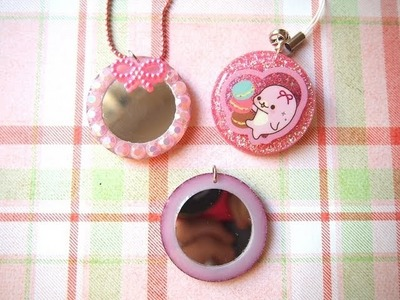 Tutorial: Resin Mirror Charms!