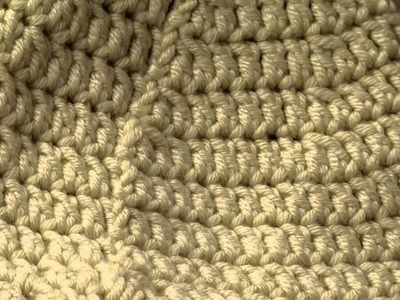 What the Back Seam of Your Crocheted Hat Should Look Like with Linda Permann