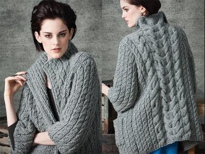 #1 Long Cardigan, Vogue Knitting Early Fall 2010