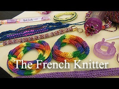 Artbeads Mini Tutorial - The French Knitter with Cynthia Kimura