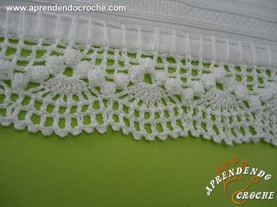 Barrado de Crochê Dançarinas