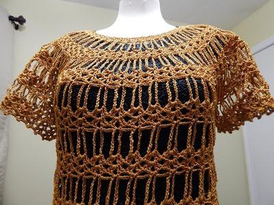 Blusa Lazos de Cadenas Crochet