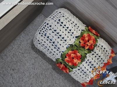 Capa de Croche para Galão Barroco - 20 LT - Aprendendo Crochê