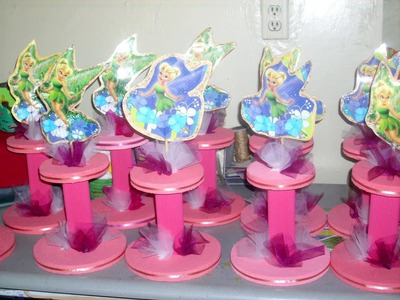 Como hacer un centro de mesa para fiesta PASO a PASO