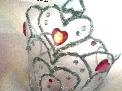 Corona de princesas de botella Pet reciclaje fácil recycled bottle princess  crown
