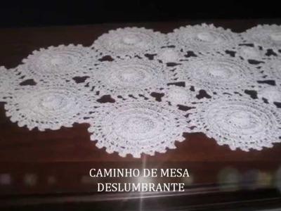 CROCHE - CAMINHOS DE MESA por Rose Borges