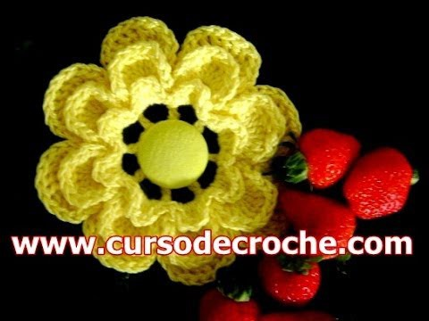 CROCHE FLORES 057 CAMÉLIA 3