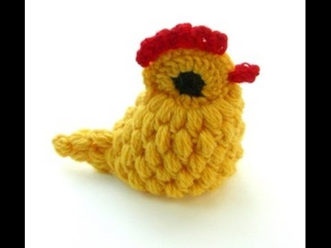 CROCHET ALONG - Yellow Crocheted Chick (HD) - Hackovana Slepicka