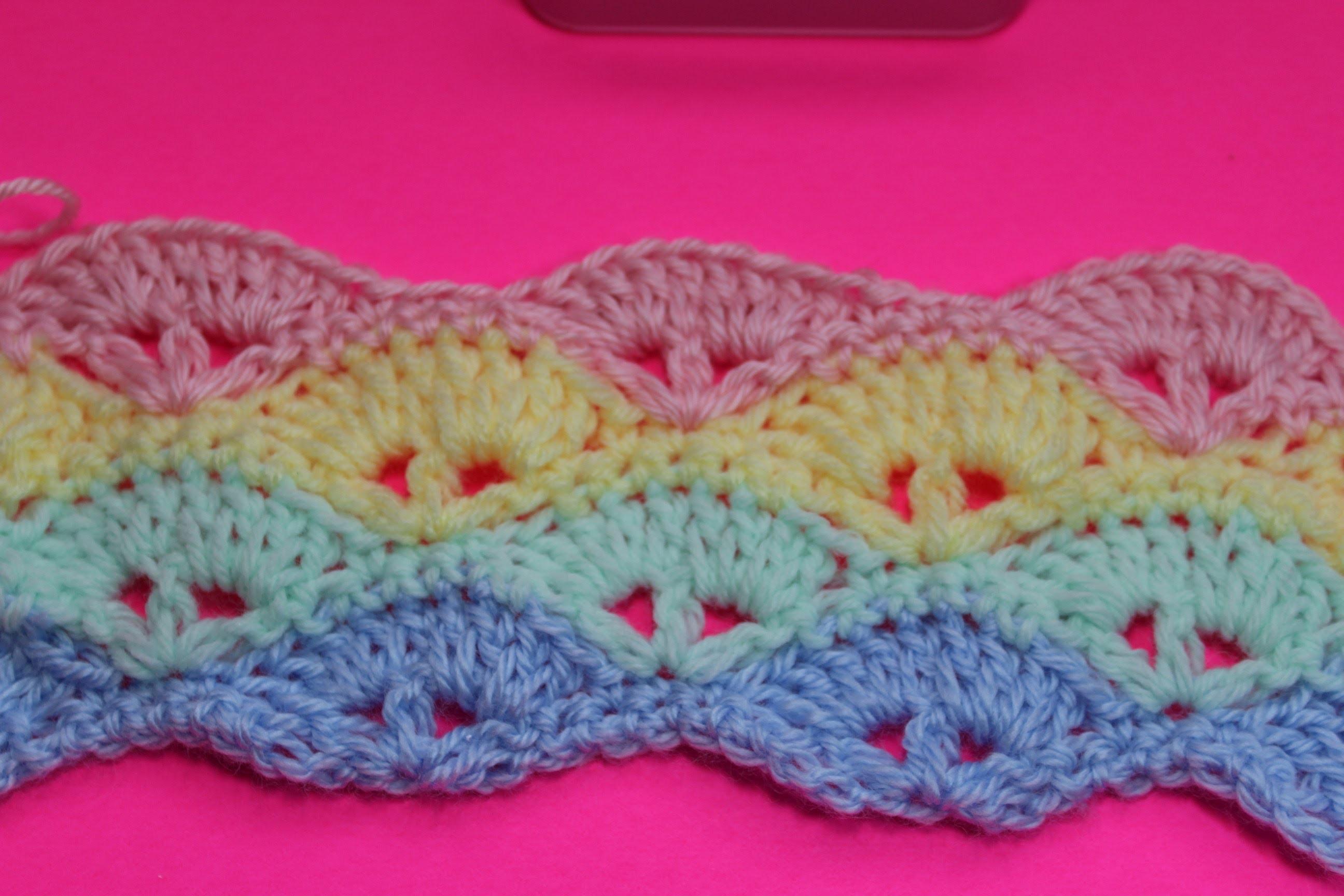 Crochet Baby Blanket Pattern Subtitulos En Espanol