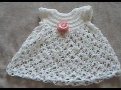 Crochet Baby Dress - Solomon's Knot Crafting Crochet Geek