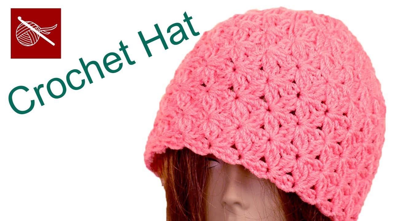 Crochet Blossom Beanie Hat - How to Make Crochet Geek