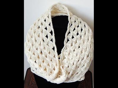Crochet : Bufanda Infinita #4 (Andrea)