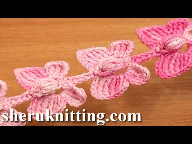 Crochet Butterfly Cord Tutorial 52 Crochet Butterflies