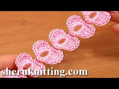 Crochet Cord Heart Elements Tutorial 62 Crochet Small Hearts
