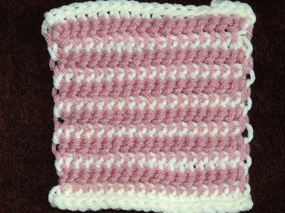 Crochet Doble Gancho : Punto # 2