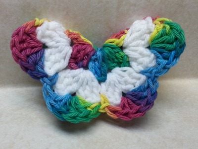#Crochet Easy 3D Butterfly #TUTORIAL Easy crochet tutorial