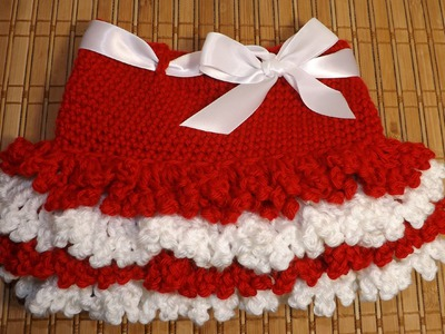 Crochet Faldita San Valentin