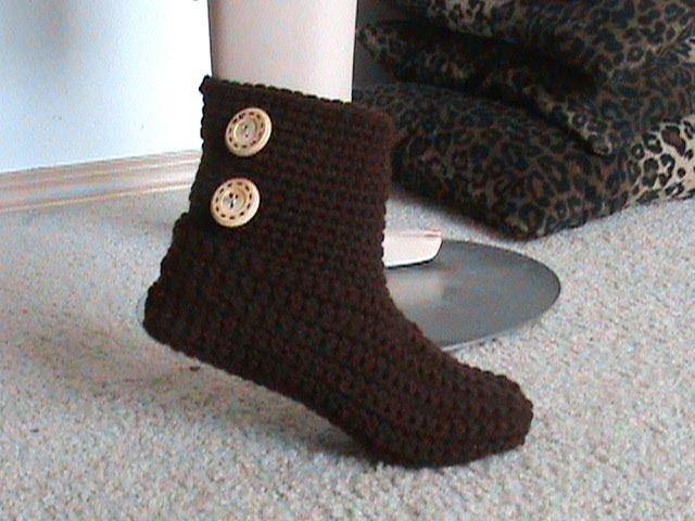 Crochet Glama's 2 in 1 Bootie Slipper Tutorial, Super Easy For Beginners