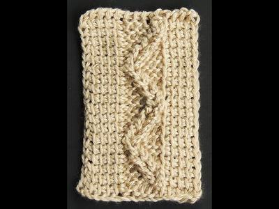 Crochet Tunecino : Trenza # 2