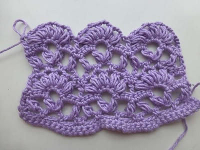 "Crochet with eliZZZa * Crochet Stitch ""Anastasia"""