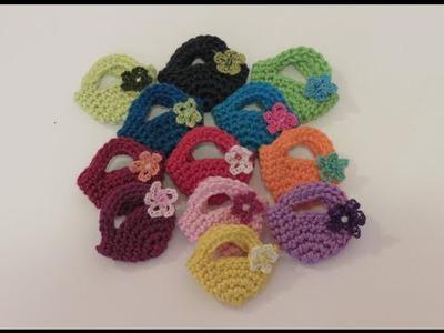كروشيه شنطة صغيرة Crochet Mini Bag