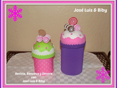 DIY- CupCakes Dulceros Navideños o de Cumpleaños