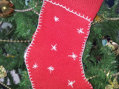 DIY TUTORIAL: LA CALZA DELLA BEFANA PARTE 1 di 3 How to knit Epiphany sock FACILE  avviare il lavoro