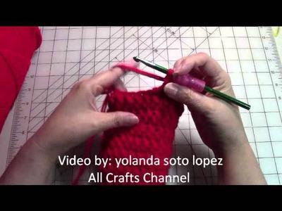Easy Beginner crochet women slippers