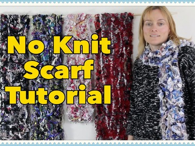 EASY No-Knit Scarf Tutorial: Soft and Cuddly Woollen Scarf