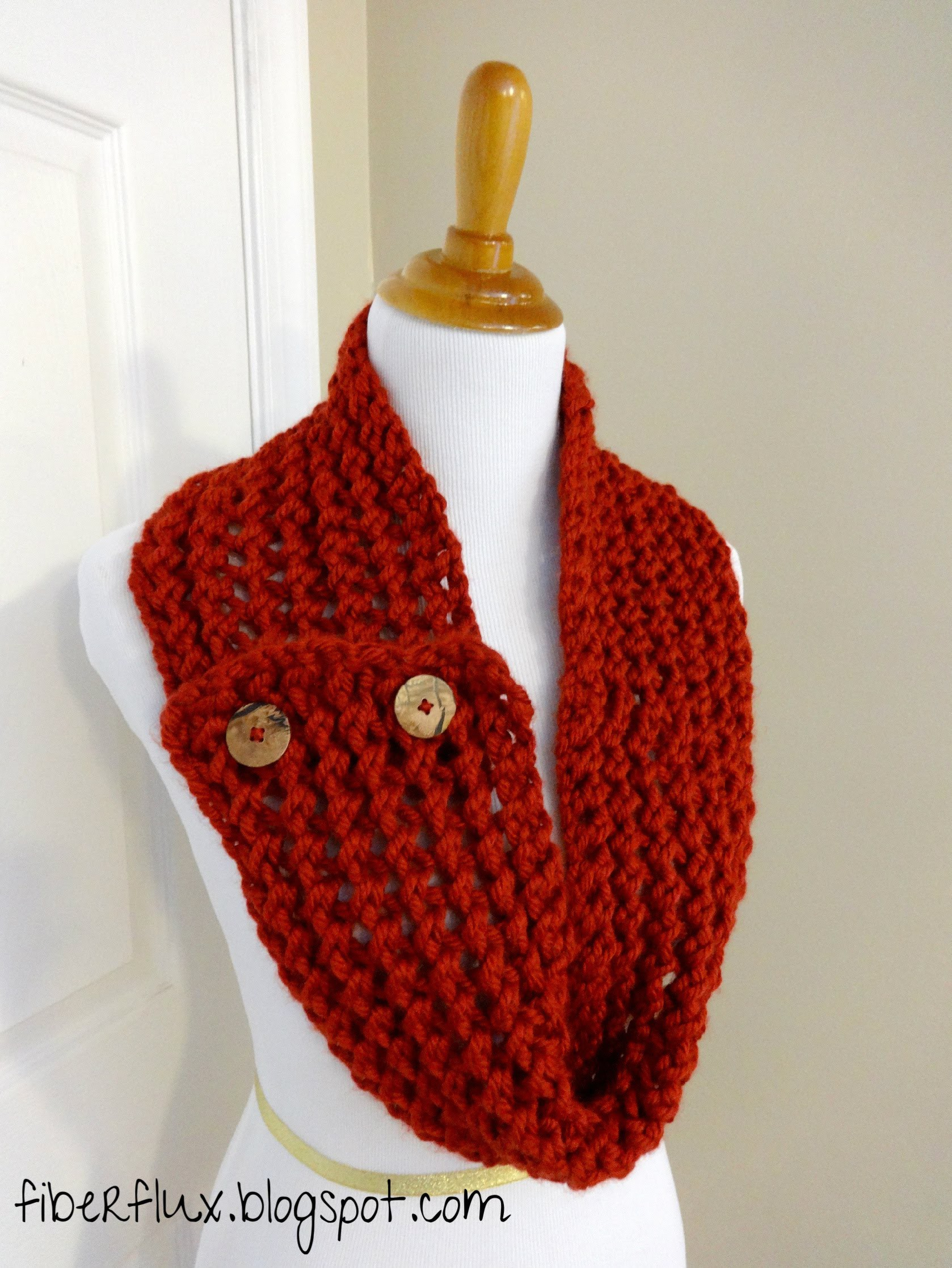 Episode 30: How to Knit the Cinnabar Button Scarf