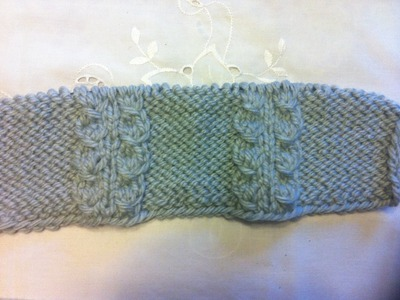 Faltenmuster Stricken*Falche Zopfmuster*Muster für Faltenrock* Knitting**Tutorial Handarbeit