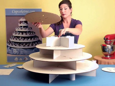 How to build Original Cupcaketree Cupcake Stands for your wedding.