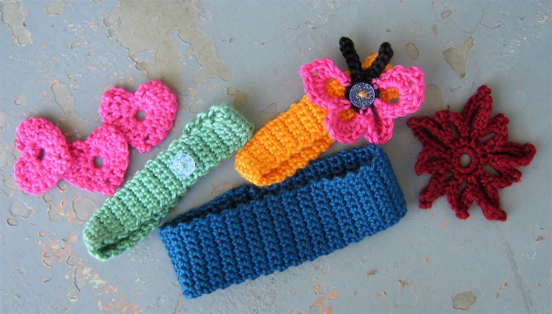 How to crochet a basic headband or hairband, easy