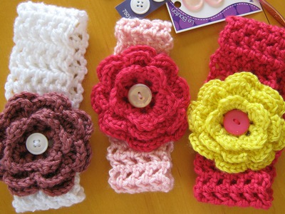 How to crochet a hairband or headband (all sizes)
