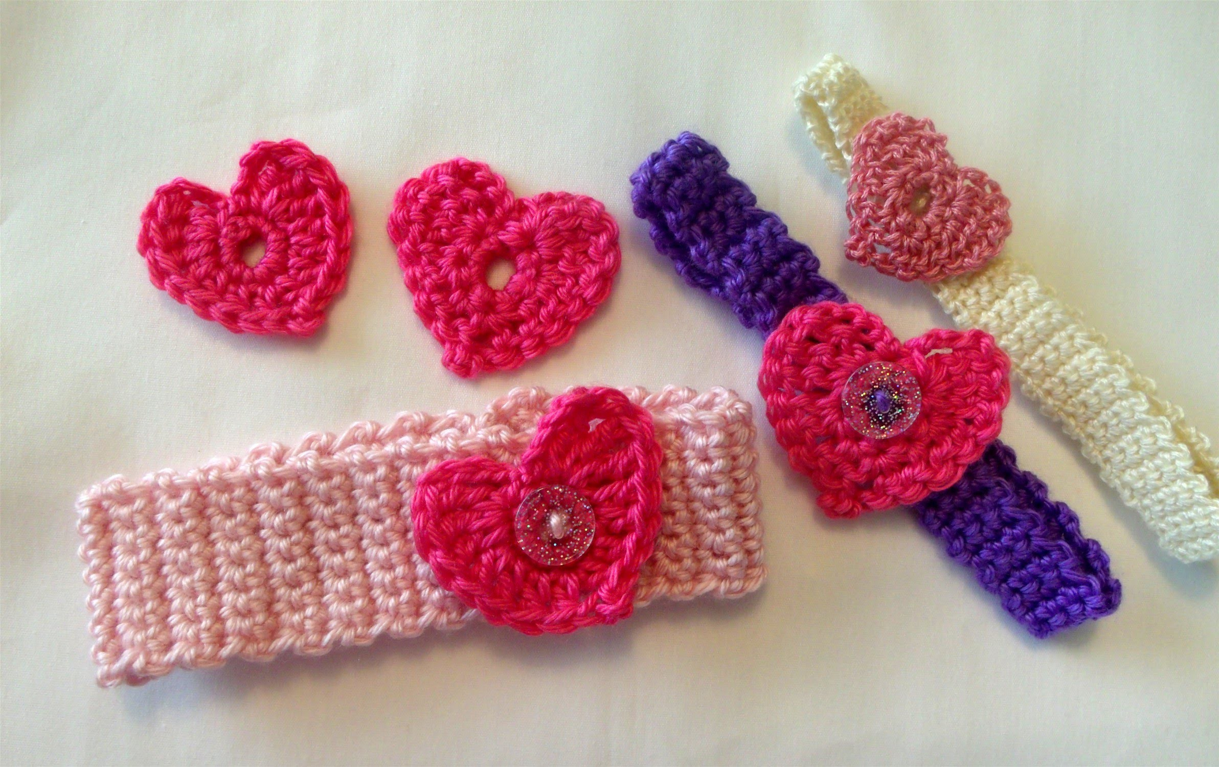 How to crochet a heart, easy, Valentines day