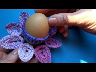 How to crochet Easter egg Пасхальное яйцо вязание крючком