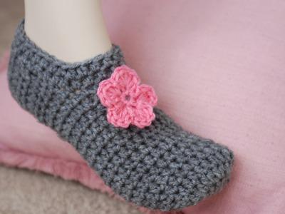 How To Crochet Glama's PUCKERLESS Slippers