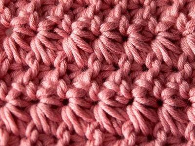 How to Crochet: Star Stitch or Marguerite Stitch