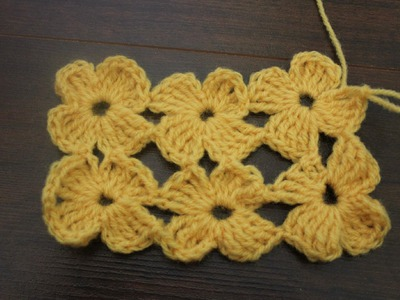 How to crochet The Daisy Stitch