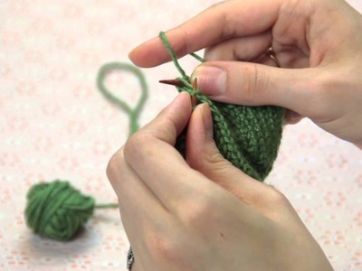 How to Fix Laddering in Knitting : Knitting Techniques