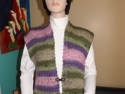 How To Knit A Cardigan Or Vest