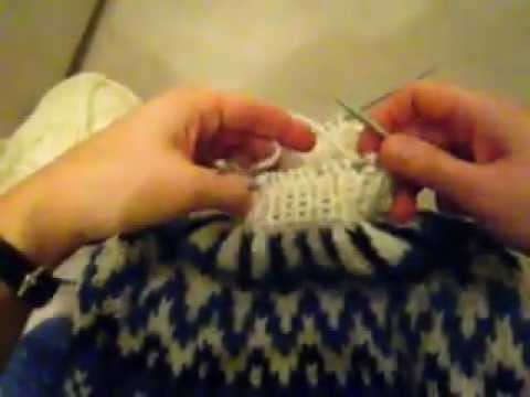 How to knit a Icelandic Sweater