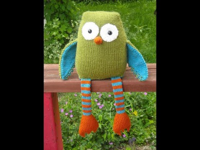 How to knit an owl