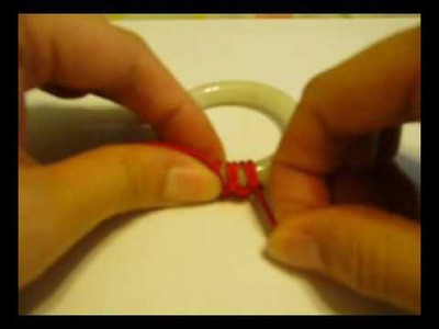 How to knit for your baby jade bangle