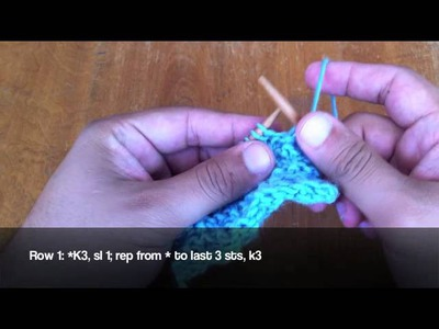 How to Knit the Cupido Stitch