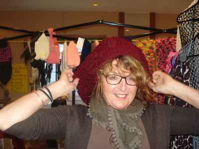 How to Knit The Slouchy Hat