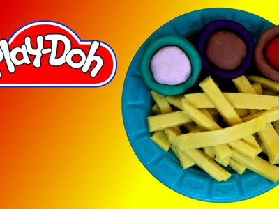 How to make  French Fries out of Play Doh